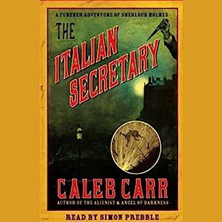 The Italian Secretary audiobook cover art