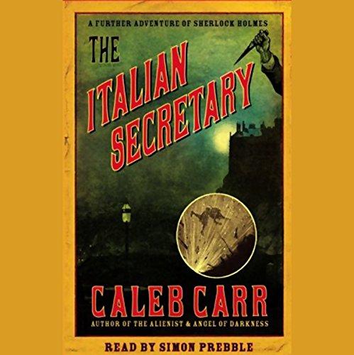 The Italian Secretary audiobook cover art