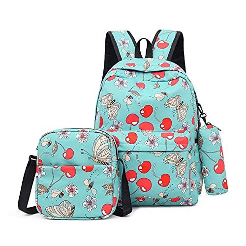 Mochilas Escolares 3 unids / set mochilas masculinas bolsas de escuela secundaria para mujeres 2020 niños un hombro grande estudiante bolso de viaje hombres escuela mochila mochilas escolares juvenile