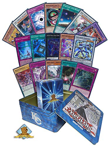 200 Yugioh Card LOT! Includes Multiple Sets - Rares - Holos! Yugioh Tin! Includes Golden Groundhog Deck Box!