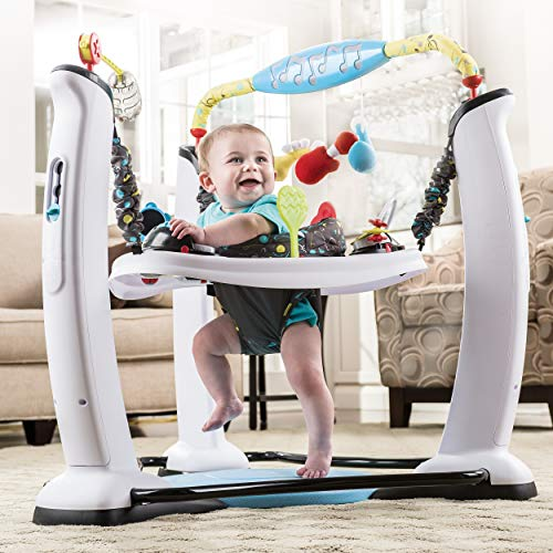 ExerSaucer Jump and Learn Stationary Jumper, Jam Session