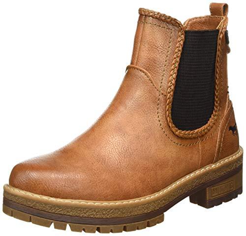 MUSTANG Damen 1344-601-307 Chelsea Boots, Braun (Cognac 307), 42 EU
