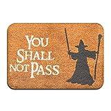 hengtaichang Door Mat Indoor Doormat Inside Welcome Mat You Shall...