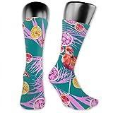 Leila Marcus calcetines para hombre y mujer son cómodos, ligeros y sudorosos,...
