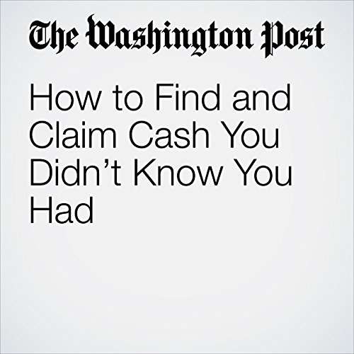 How to Find and Claim Cash You Didn't Know You Had audiobook cover art