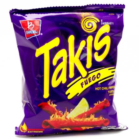 Takis Fuego Corn Snacks 62g
