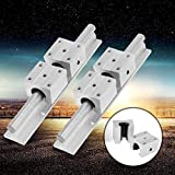 Carril de soporte de guía lineal, aleación de aluminio con cojinetes deslizantes, 40 * 40 * 26 mm