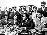 bucraft Jim Brown and Muhammad Ali at A Press Conference 8x10 Photo Print