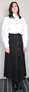 Lady Wah-Maker Old West Clothing Black Skirt - Size 8