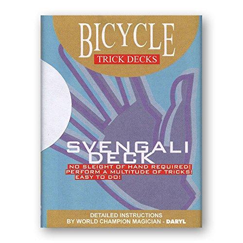 Murphy's Magic Svengali Deck Bicycle (Red) - Trick