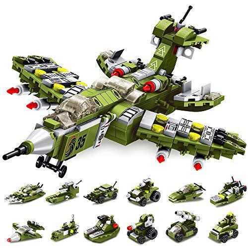 VATOS Bausteine Spielzeug 25-in-1 STEM Bauspielzeug ab 6 Jahren 576 PCS Pädagogische Warcraft Konstruktionsspielzeug für Jungen und Mädchen Kreatives Spielzeug Kinder 5-12 Jahre