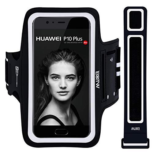 "Brazalete Móvil Deportivo Universal,EOTW Brazalete Deportivo para iPhone 11 Pro MAX X XS MAX/Huawei P20 Pro P10 P9 Plus Honor 8X y Samsung A50 A40/LG/BQ Aquaris/Xiaomi(5''-6,5"")"