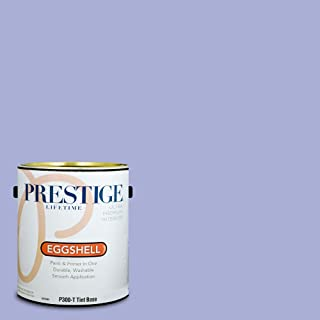 Prestige Paints P300-T-MQ4-30 Interior Paint and Primer in One, 1-Gallon, Eggshell, Comparable Match of Behr Lavender Wash, 1 Gallon, B16-Lavender