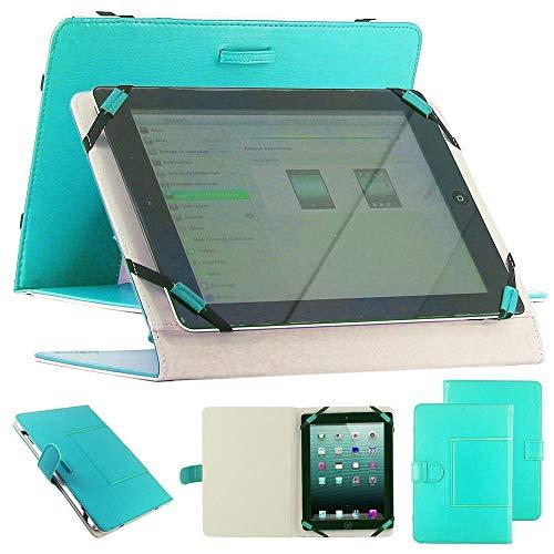 """ebestStar - Coque Compatible avec Universel Tablette 10 Pouces Etui Housse PU Cuir Universel Support caré pour Tablettes 10"""" 10 Pouces, 18,2 x 27,5 cm, Bleu [Appareil: (230-265) x (140-182) x 20mm]"""