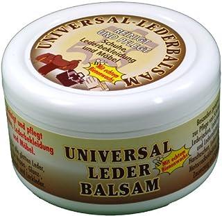 vom Pullach Hof Universal Lederbalsam 250ml mit echtem Bienenwachs zur Pflege und Reinigung von Zaumzeug Sättel Schuhe Lederbekleidung Möbel Handtaschen, farblos