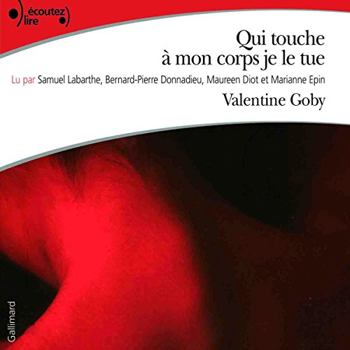 Qui touche à mon corps je le tue audiobook cover art