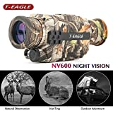 Best Night Vision Monoculars - T-EAGLE Night Vision Monocular,Camouflage Infrared Camera 8X35 HD Review