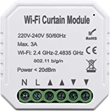Roloiki Tuya Intelligent Life WiFi Curtain Switch Module for Roller Shutter Electric Motor Compatible with Alexa Google Home