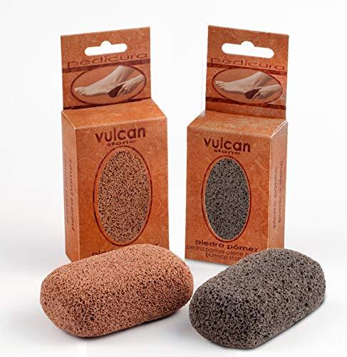 Vulcan Bimsstein für Füße und Hände, 2 Stück
