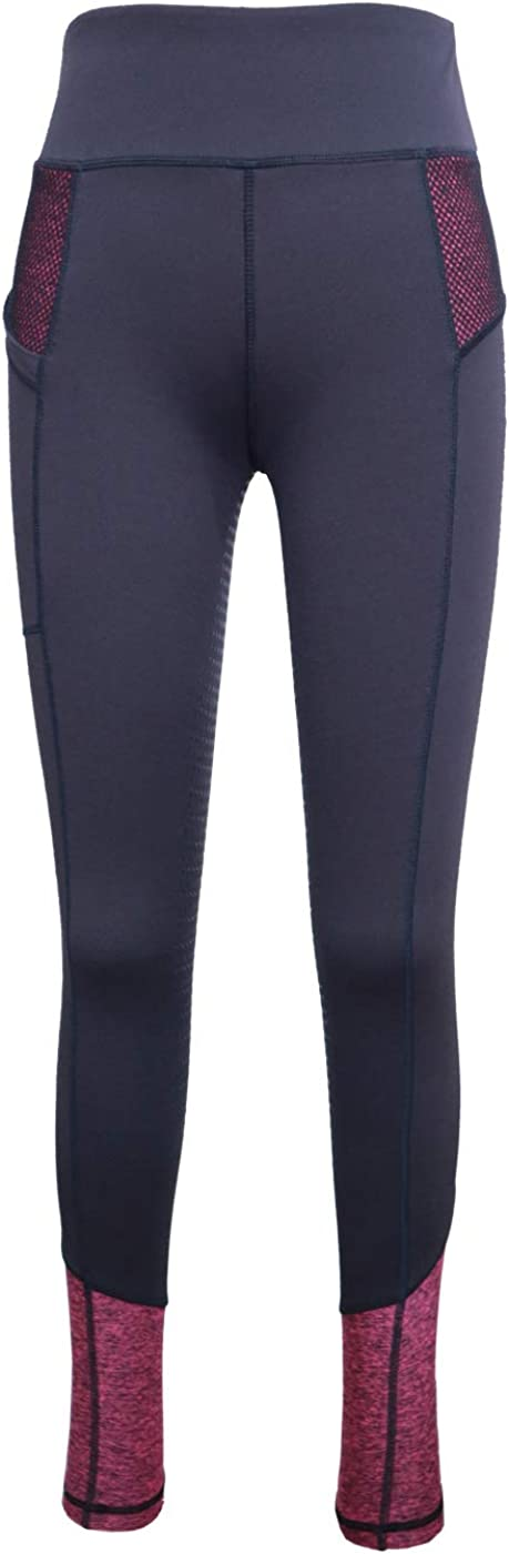 HR Farm Women's Silicone Baltimore Mall Ranking TOP12 Tights Horse On Le Grip Gel Riding Pull