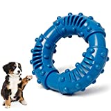 Toozey Dog Chew Toys for Aggressive Chewers Large Breed, Non-Toxic Natural Rubber Dog Toys Large Breed, Indestructible Ultra-Tough Puppy Teething Chew Toys for Small Medium Large Dogs