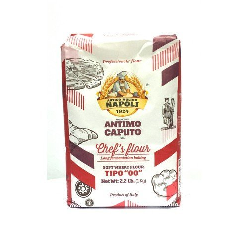 Antico Molino Napoli Antimo Caputo '00' Flour 2.2 Lb (Pack of 3)