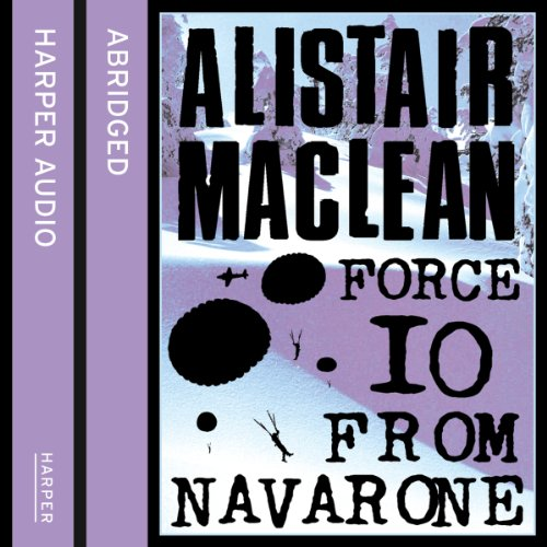 Force 10 from Navarone audiobook cover art