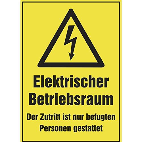 Elektro-Warnschild