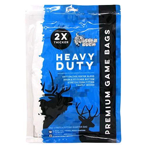 Koola Buck Premium Heavy-Duty Reusable Hunting Game/Meat Bags - 1-Pack Fully-Body Bag (72