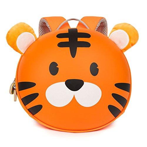 Boppi Tiny Trekker Mochila Infantil De Viaje para Vacaciones: 4 litros   Tigre