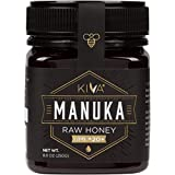 Kiva Raw Manuka Honey, Certified UMF 20+ (MGO 850+) - New Zealand (8.8 oz) - LIMITED TIME SALE!!