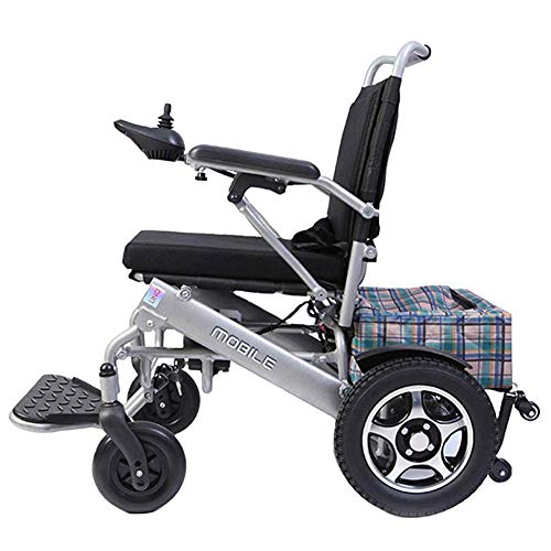 Inicio Accesorios Ancianos Discapacitados Silla de ruedas eléctrica plegable y liviana Scooter médico portátil para discapacitados y personas mayores Movilidad Avión permitido motor doble hasta 15