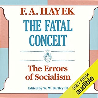The Fatal Conceit audiobook cover art