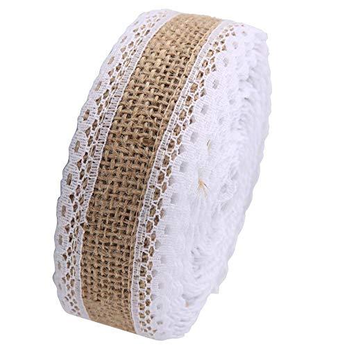 Hermosos bordes Encaje de cinta de arpillera hermosa, banda de encaje, toalla...