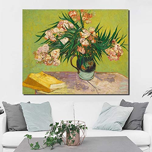 KWzEQ Famoso Pintor Lienzo Pintura Arte de la Pared Papel Tapiz póster impresión Moderna Sala de Estar decoración del hogar,Pintura sin Marco,70x90cm