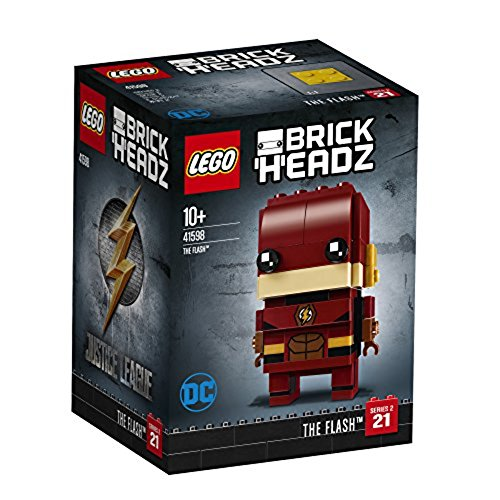 LEGO- Brickheadz The Flash, Multicolore, 41598