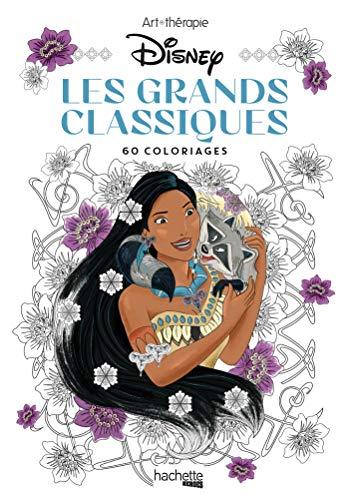Les Petits blocs d'Art-thérapie Les Grands Classiques Disney: 60 coloriages