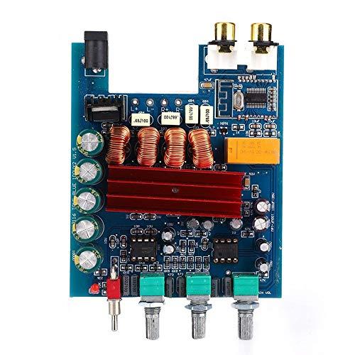 Versterkerkaart, DP2 TPA3116D2 2.0 Digitale vermogensversterkerkaart 100W x 2 met voorversterker Compatibel met Bluetooth 4.2
