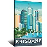 RMLKS Vintage-Reise-Poster Brisbane, Australien,