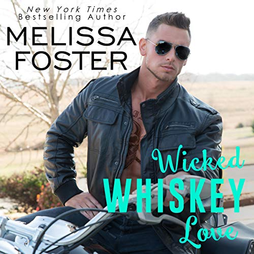 Wicked Whiskey Love audiobook cover art