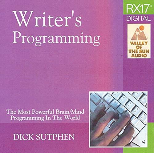 RX 17 Series: Writer's Programming
