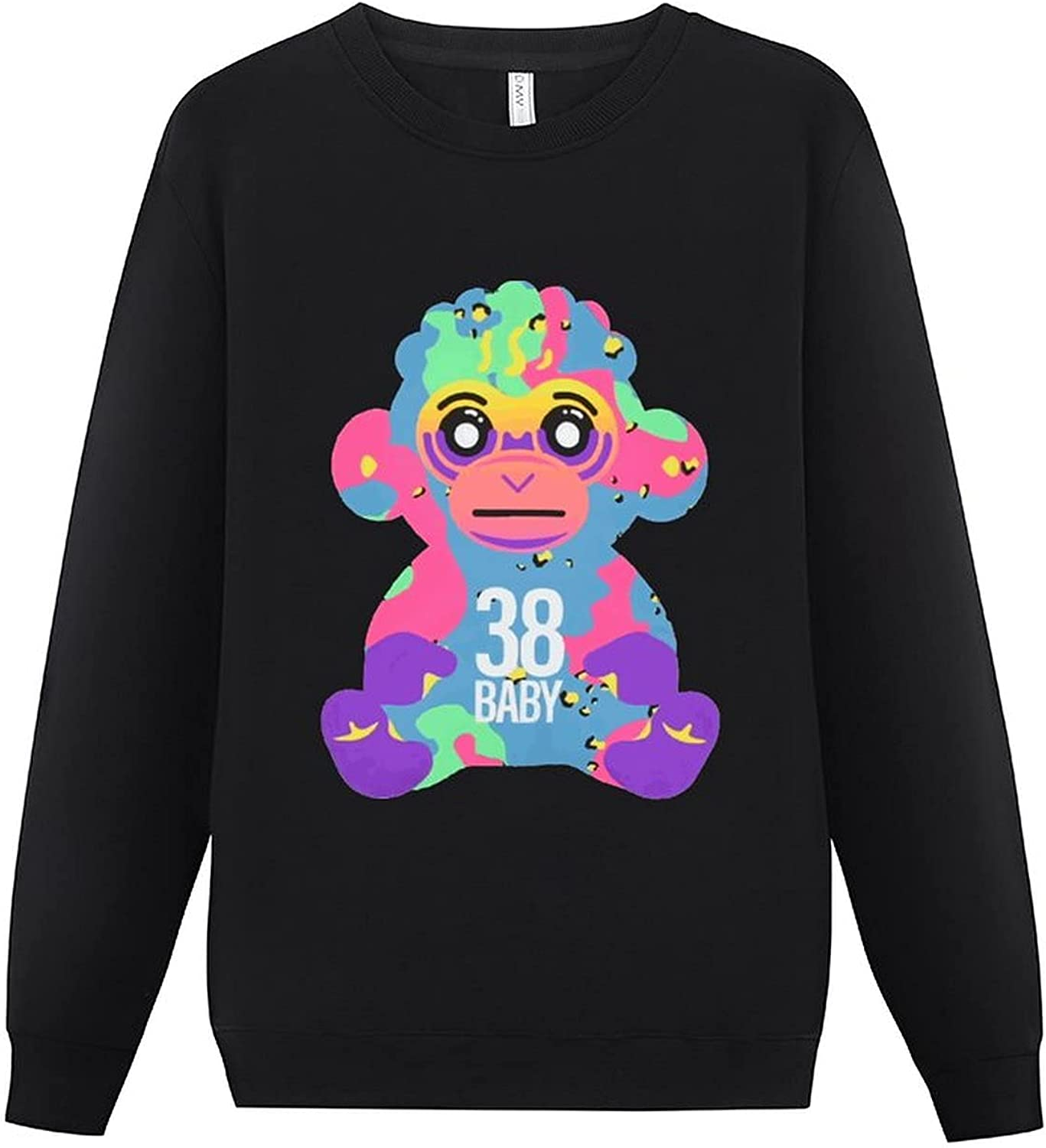 N-B-A Gifts Young-boy 38 Baby Monkey Men's Sleeve Limited price sale Pull Long Round Neck