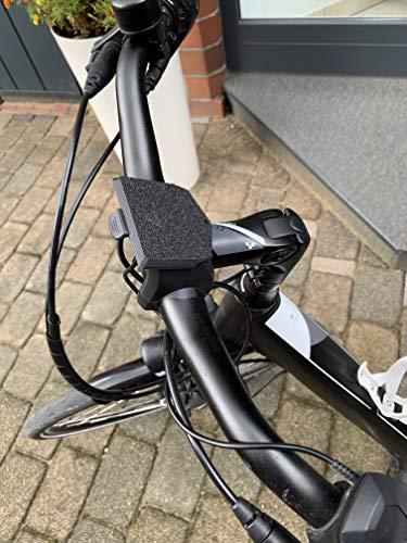 F3D Abdeckung kompatibel Bosch eBike Display Halterung Intuvia Nyon Kappe Schutzkappe (Metallic)