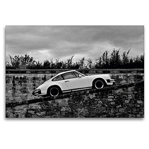 Premium Textil-Leinwand 120 x 80 cm Quer-Format Porsche 911 SC   Wandbild, HD-Bild auf Keilrahmen, Fertigbild auf hochwertigem Vlies, Leinwanddruck von Ingo Laue