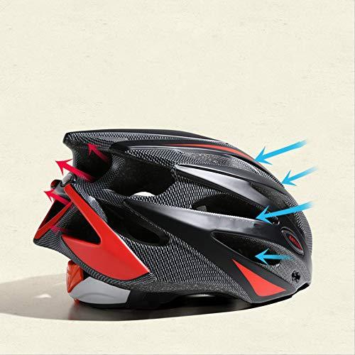 ZHAOYAN Bici Bici Casco Uomo Attrezzatura Bici Mountain Bike Sicurezza Cappello Fulmine Equilibrio Ciclista