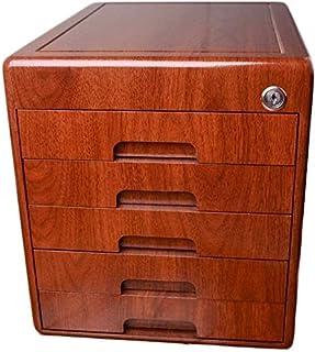Classeurs Armoires de fichiers avec Office Desktop Lock 5 Couches de Type tiroir Plat A4 Papier Bureau Armoire de Rangemen...