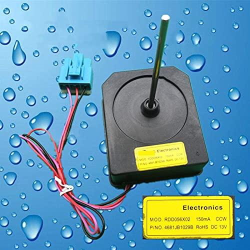 JINGERL 1 unids refrigerador Motor refrigeración Ventilador Ajuste para LG Doble Puerta refrigerador Mod.rdd056x02 4681JB1029B Piezas de reparación de reemplazo