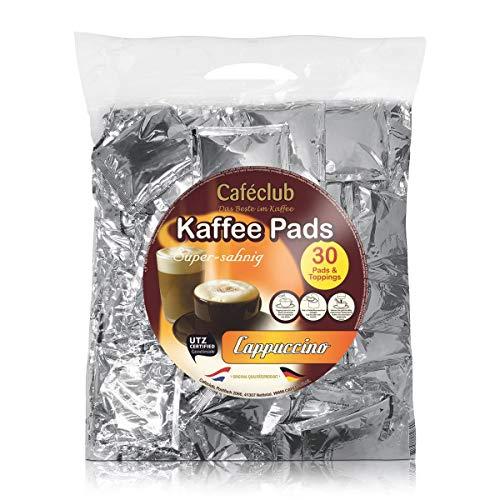 Caféclub Cappuccinopads Super-sahnig 30 Portionen