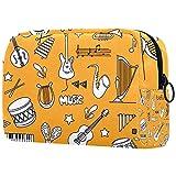 Caja de maquillaje para cosméticos, cosméticos, cosméticos, cosméticos, cosméticos, bolsa de cosméticos, bolsa de cosméticos, bolsa de viaje, bolsa de aseo para niñas, textura verde con trébol