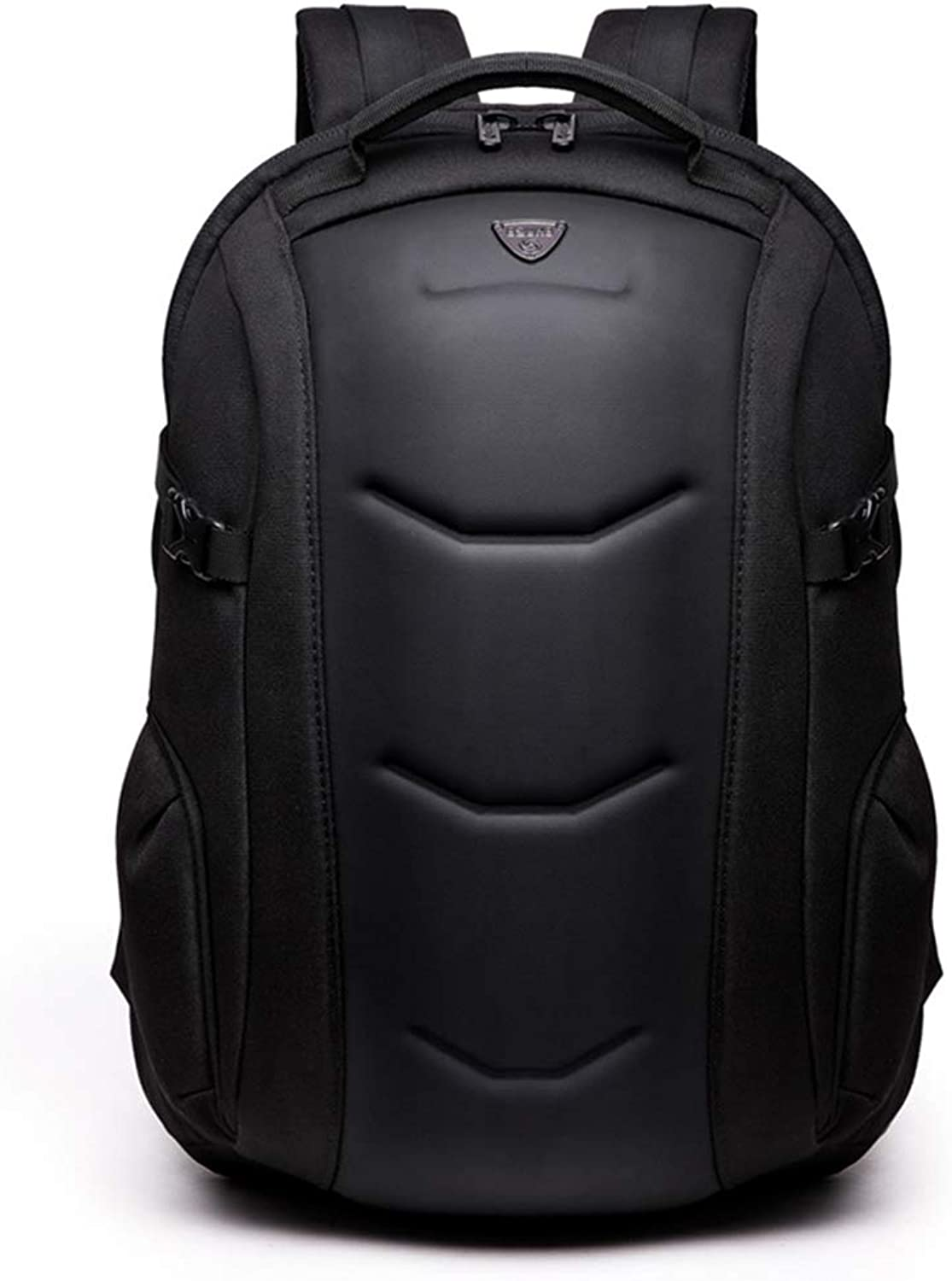 Backpack Male Business Computer Backpack Creative Leisure Travel Backpack Casual Fashion Travel Bag,Black